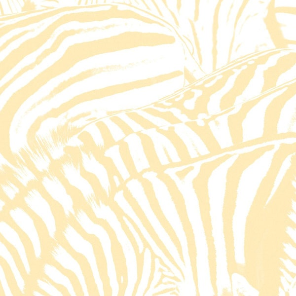 The album cover is a yellow and whote striped print