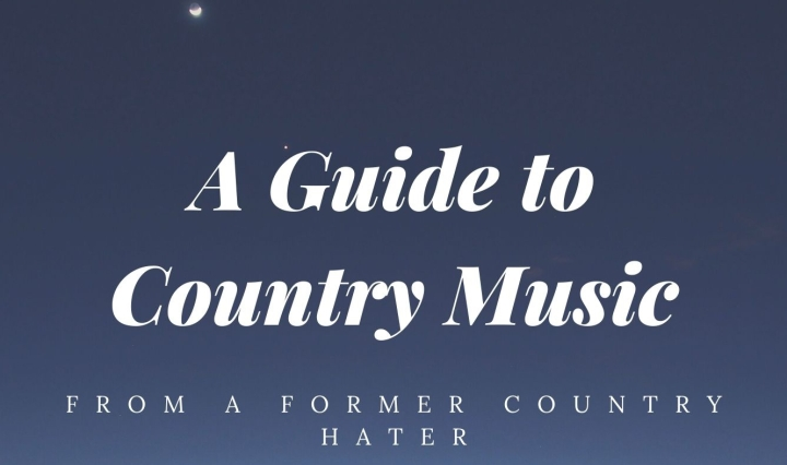 "Blue Sky with the works ""A Guide to Country Music From A Former Country Hater"""